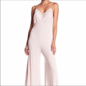Free People Lace Jumpsuit